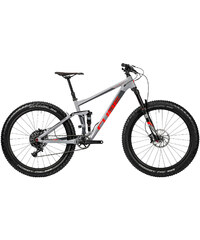 Cube Herren Mountainbike Stereo 150 HPA Race 27.5 grey'n'flashred