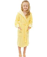 Madlen style Dívčí župánek Mela žlutý