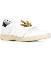Sneakers Palm Angels homme en cuir blanc