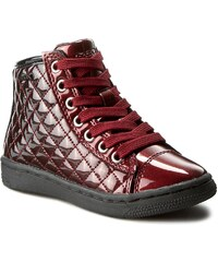 Sneakersy GEOX - J Creamy D J64L5D 000GX C0100 C.Czerwony/Czarny