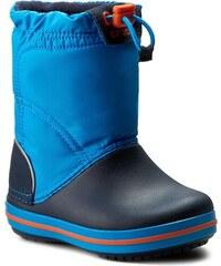 Sněhule CROCS - Crocband Lodgepoint Boot 203509 Ocean/Navy