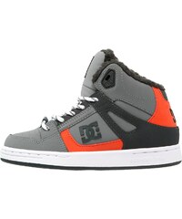 DC Shoes REBOUND Chaussures de skate grey/black/orange