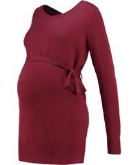 Zalando Essentials Maternity Strickpullover dark red