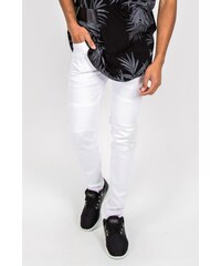 Sixth June Jeans Biker White