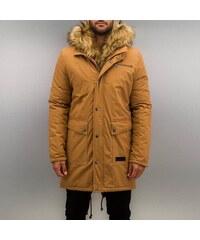 Bangastic Fake Fur Jacket Brown