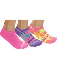 Converse neonové kotníkové ponožky 3 Pack