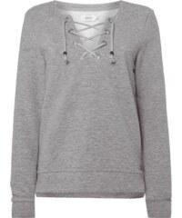 Only Sweatshirt mit Schnürung