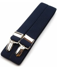 Ostatní Stoklasa šle pánské, délka 125cm, šíře 2,5cm, tvar X, modrá, 650254/6