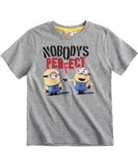 Minions T-Shirt grau in Größe 104 für Jungen aus 100% Baumwolle