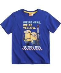 Minions T-Shirt royal blau in Größe 104 für Jungen aus 100% Baumwolle