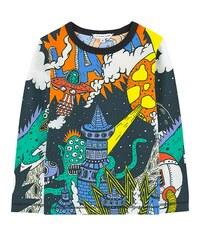 Little Marc Jacobs Bedrucktes T-Shirt