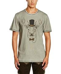 Gweih & Silk Herren T-Shirt Monokel