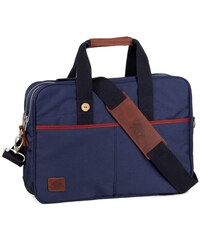 FAGUO Blaue Laptop-Tasche Fratelli aus Nylon