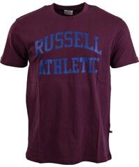 Russell Athletic ARCH LOGO vínová S