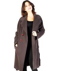 Butikovo Červený zimný kabát s plyšovou podšívkou - Glami.sk a7aadf85950
