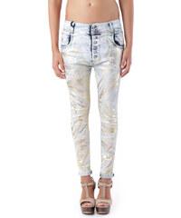Woman Jeans Sexy Woman 68759 - XXS / Zlatá
