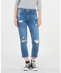 Pimkie Boyfit-Jeans mit Destroy-Effekt