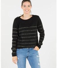 Pimkie Lurex-Pullover mit Schleife