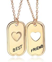 Lesara 2er-Set Freundschaftshalskette Best Friend