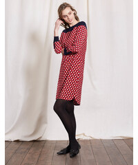 Ursula Kleid Rot Damen Boden