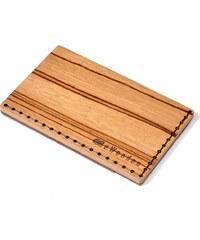BeWooden Dřevěná dolarová peněženka Linea Note