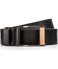 BeWooden Kožený opasek - Nox Belt - 85 cm