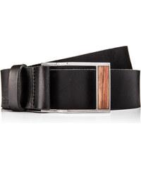 BeWooden Kožený opasek - Apis Belt - 85 cm