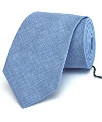 Klukovna Modrá žíhaná kravata