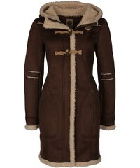 myMo Manteau court dark brown