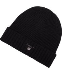 Gant Mütze aus Lammwoll-Baumwoll-Mix