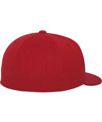 Flexfit Pro Baseball On Field Shape Cap red