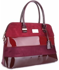 Elegantní Dámská kabelka kufřík David Jones Fialová
