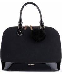 Elegantní Dámská kabelka kufřík XL David Jones Černá