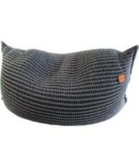 Catness Design s.r.o. Sedací vak Catboy 113 černo-šedý