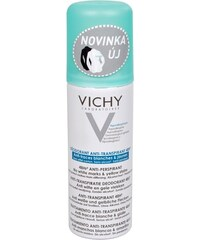 Vichy 48hodinový deodorant antiperspirant ve spreji proti bílým a žlutým skvrnám 125 ml