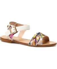 Magic Fairy dívčí sandálky s trendy barevnými vzory - bílé 94094ff2ef
