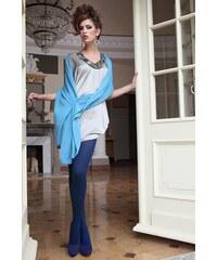 Ballerina Elegantní punčochové kalhoty Glamour Soft Blue modrá S/M
