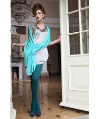 Ballerina Elegantní punčochové kalhoty Glamour Soft Green zelená L/XL