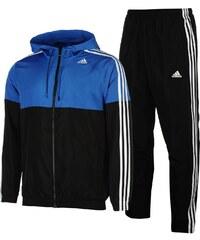 Sportovní souprava adidas Woven pán. černá/modrá