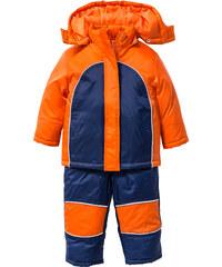 bpc bonprix collection Combinaison de ski (Ens. 2 pces.), T. 80-134 bleu manches longues enfant - bonprix