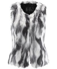 bpc selection Gilet sans manches en synthétique imitation fourrure gris femme - bonprix