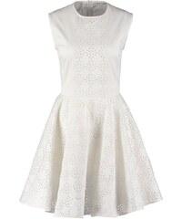 Giambattista Valli x 7 for all mankind Robe d'été lace white