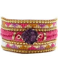 Hipanema Damen-Armband Purplerain H16MPURP