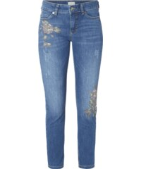 MAC Skinny Fit Jeans im Used Look