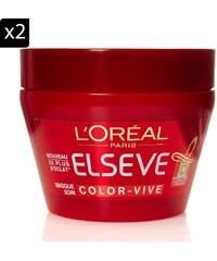 L'Oréal Paris 2-er Set Pflegemaske Color-Glanz - 300 ml
