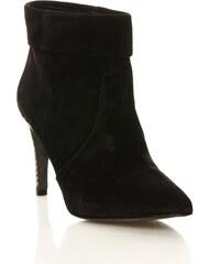 Ikks shoes Miranda - Bottines en cuir suédé - noir