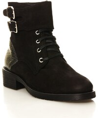 Ikks shoes Ranger - Boots en cuir - noir