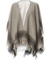 Beck Sondergaard Prairie - Poncho en laine - noir