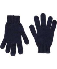 Benetton Paire de gants en laine mélangée - bleu