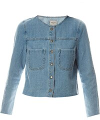 Vero Moda Mona - Veste en jean - bleu ciel